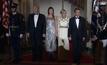 ผู้นำสหรัฐฯ เลี้ยงต้อนรับผู้นำฝรั่งเศสแบบรัฐพิธี