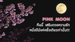 ใครอยู่ญี่ปุ่นห้ามพลาด Pink Moon เพื่อเสริมดวงความรัก คืนนี้!!!