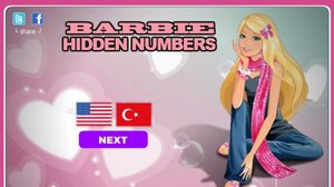 เกมส์ Beautiful Girl Hidden Numbers