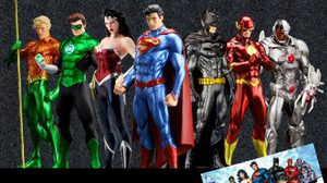 Justice League New52 เหล่าฮีโร่ จาก DC Comics