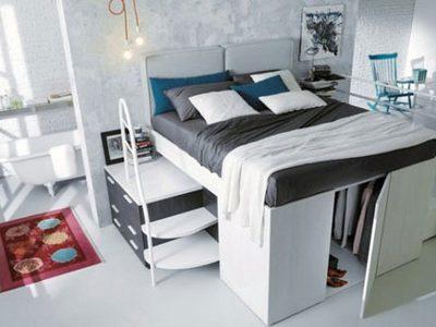 นี่ เตียงนอน หรือ ตู้เสื้อผ้า ?! เฟอร์นิเจอร์ 2 in 1 ตอบโจทย์ ห้องแคบ
