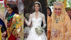 ชุดแต่งงานที่โลกไม่ลืม! รวม 16 ชุดเจ้าสาว สุดสง่างาม ของ เจ้าหญิงตัวจริง