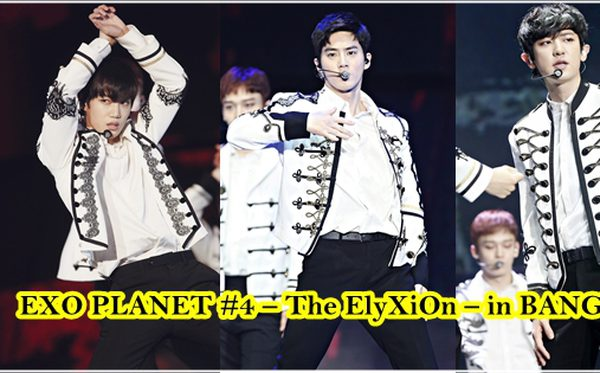"""EXO เนรมิตสรวงสรรค์ในคอนเสิร์ต """"EXO PLANET #4 – The EℓyXiOn – in BANGKOK"""""""