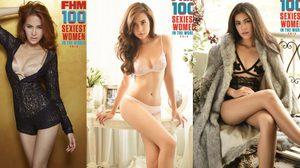 ประกาศผลแล้ว!! FHM ผู้หญิงที่เซ็กซี่ที่สุดแห่งปี 2015-2016