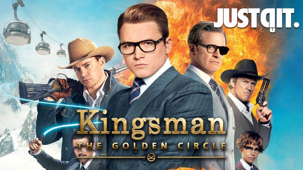 รีบรีวิว KINGSMAN 2 The Golden Circle รวมพลังโคตรพยัคฆ์ #JUSTดูIT