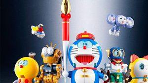 Bandai จัดทำหุ่นยนตร์ยักษ์ Cho-gokin! Cho-gattai! SF Robot Fujiko F. Fujio Characters