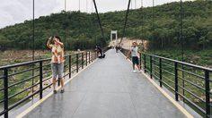 สะพานแขวนเขื่อนแม่กวง ที่เที่ยวธรรมชาติแห่งใหม่ จ.เชียงใหม่