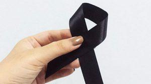 เสื้อดำหมดแล้วไม่เป็นไร 5 ไอเดีย DIY เข็มกลัด ริบบิ้นดำ สำหรับติดไว้ทุกข์