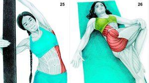 34 ภาพที่แสดงให้เห็นว่าคุณ ยืดกล้ามเนื้อ ถูกจุด ถูกวิธีแล้วหรือยัง