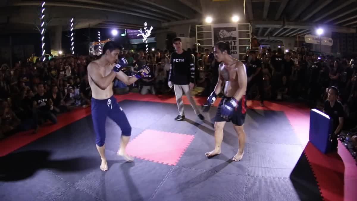 Fight Club Thailand ประชาชน ปุ่ม x มาส คู่ที่ 95