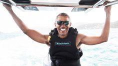 วันสบายๆ ชิลล์ๆ ของ บารัค โอบาม่า หลังจากพ้นตำแหน่งประธานาธิบดีสหรัฐฯ