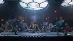 อาหารมื้อสุดท้าย!? เจมส์ กันน์ ปล่อยภาพฉากที่ถูกตัดออกใน Guardian of The Galaxy Vol.1
