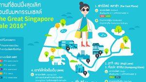 แนะสถานที่ช้อปปิ้งสุดเลิศสำหรับนักช้อปชาวไทย ต้อนรับมหกรรมเซลล์  The Great Singapore Sale 2016