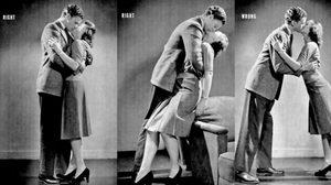 เคล็ดลับการจูบให้ถูกวิธี จากหนังสือสมัย 1942 ทำตามแล้วไม่มีพลาด
