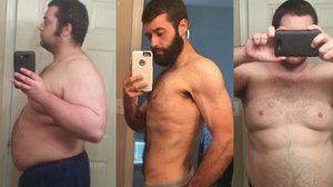 ถูกไล่ออกเพราะอ้วนไป หนุ่มอ้วน 151 ลดน้ำหนัก 79 กิโล ภายใน 9 เดือนครึ่ง