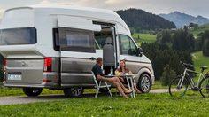 Volkswagen เปิดภาพ Volkswagen California XXL รถตู้ Camper ตัวต้นแบบสำหรับสายทัวร์