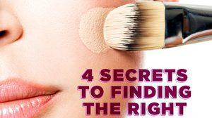 4 วิธี เลือกสีรองพื้น ให้เป็นเรื่องง่ายๆ ไม่ยุ่งยาก