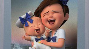 ภาพคู่น่ารักน่าเลิฟ จากพี่ชายและน้องชายจำเป็น ในคลิปล่าสุดจาก The Boss Baby