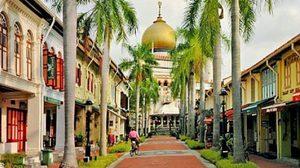 มัสยิดสุลต่าน ที่ Kampong Glam เดินตรอกสุดชิค Haji Lane สิงคโปร์
