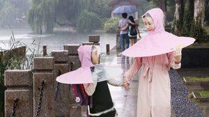 ใส่ไว้ไม่มีเปียก!! สุดยอด เสื้อกันฝน นวัตกรรมใหม่ส่งตรงจากประเทศจีน