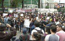 ชุมนุมประท้วงหน้าสถานทูตสหรัฐฯ ในเม็กซิโก
