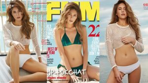 จิ๊บ ปกฉัตร FHM 2017 อวดชุดบิกินี่ริมทะเลให้คลายร้อน