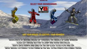 เกมส์สโนว์บอร์ด snowboarding