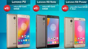 Lenovo จัดเต็มโปรโมชั่น และของแถมเพียบที่งาน Thailand Mobile Expo 2017