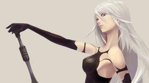กำเดาแทบพุ่ง! สาวจากเบลเยี่ยม คอสเป็นA2 จากเกม NieR:Automata ผมนี่ยืนขึ้นเลย !!