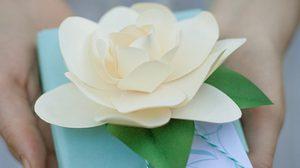 D.I.Y ดอกมะลิซ้อน ของขวัญวันแม่