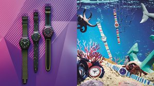 SWATCH เปิดตัวนาฬิกาสองคอลเลคชั่นล่าสุด ชวนสนุกรับซัมเมอร์ 2018