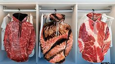 บอกให้โลกรู้ว่า เราสายเนื้อ! เสื้อแจ็คเก็ตลายเนื้อ แฟชั่นแปลกที่มีจริงๆ