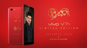 Vivo ปล่อย Vivo V7+ Infinete Love สีแดงใหม่!! รับวันวาเลนไทน์