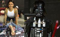 ดาวโป๊สร้าง หุ่น Darth Vader จากเซ็กส์ทอย ขนาด 7 ฟุต!!!