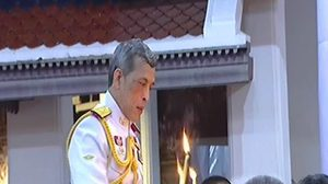 พระเจ้าอยู่หัวเสด็จฯ บำเพ็ญพระราชกุศลพิธีกงเต็ก ถวายพระบรมศพ