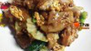 บ้านกระเพรา อาหารตามสั่ง หลังกระทรวงสาธารณสุข นนทบุรี