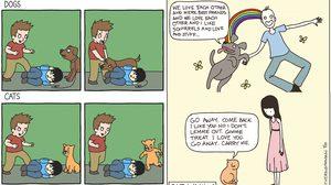 ข้อแตกต่างของ คนรักหมาและแมว สัตว์เลี้ยงเหมือนกันแต่มาคนละโลก