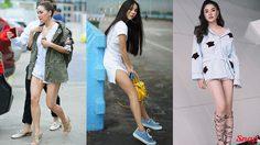 3 สาวสายสตรอง กับ แฟชั่นขาสั้น มาดูกล้ามขาใครสวยกว่ากัน!!!