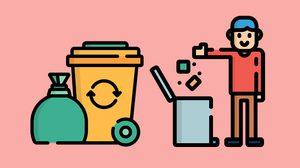 ถังขยะแต่ละสี มีความหมายว่าอย่างไร