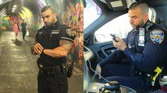 ตำรวจหล่อ จาก New York หล่อล่ำจนสาว ๆ อยากให้จับกุม