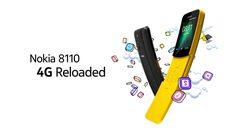 HMD เปิดตัว Nokia 8110 4G การกลับมาของเจ้ากล้วยหอมในตำนานยุค 90