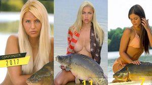ปฏิทินสยิวสาวเซ็กซี่กับปลาคาร์ฟ ของแปลกแต่ Must Have ของหนุ่มรักการตกปลา