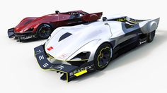 Tesla เปิดภาพ Render ต้นแบบรถไฟฟ้า สำหรับลงแข่ง Le Mans ในปี 2030
