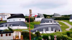 Equihen Plage หมู่บ้านบ้านเรือคว่ำในฝรั่งเศส