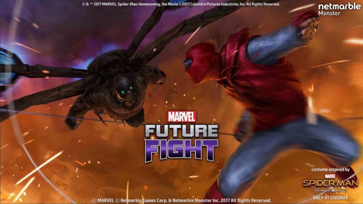 MARVEL Future Fight SpiderMan Homecoming มาแล้ว