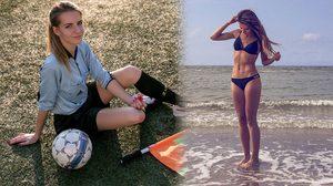 นกหวีดแซบ! Karolina Bojar กรรมการฟุตบอลหญิงที่ฮอตสุดในโลกโซเชียล