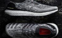 Adidas UltraBOOST Uncaged วัสดุผ้า Primknit ชิ้นเดียวทั้งผืน