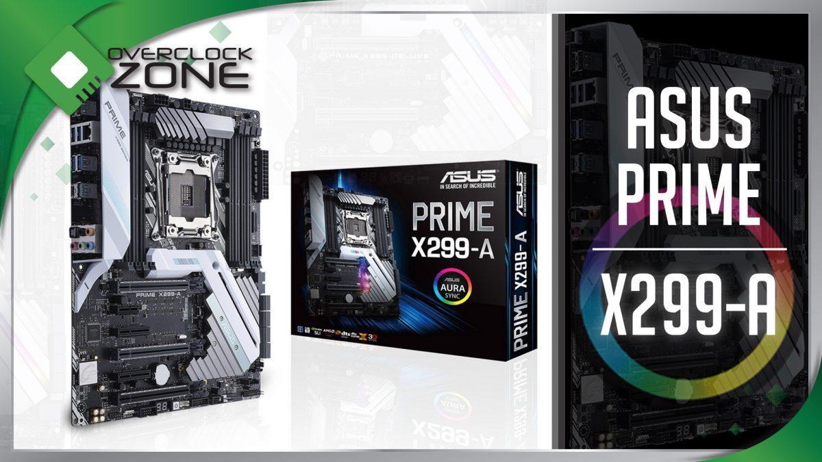 รีวิว ASUS PRIME X299-A : Motherboard