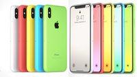 ชมภาพคอนเซปต์ iPhone Xc หลากสีกับบอดี้พลาสติกในราคาที่ถูกลง