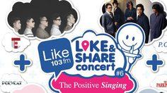 103 Like Fm ชวนสร้างพลังบวกจากคอนเสิร์ต The Positive Singing